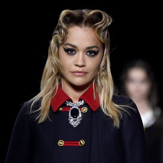 Rita Ora Walked the Miu Miu Autumn 2020 Runway