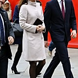 Kate Middleton and Prince William Visit Cambridge University