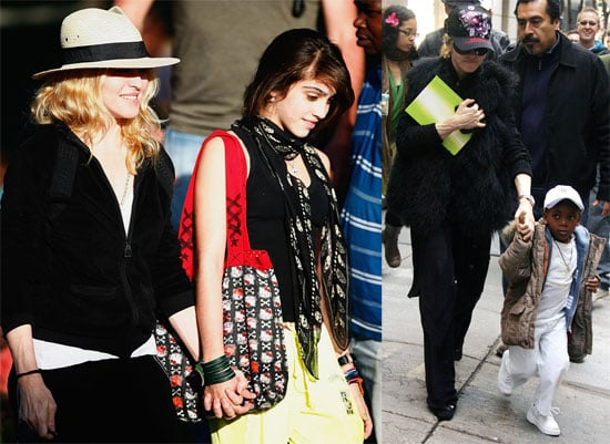 Photos of Madonna, David Banda in NYC and With Lourdes in Malawi, Adoption Delayed