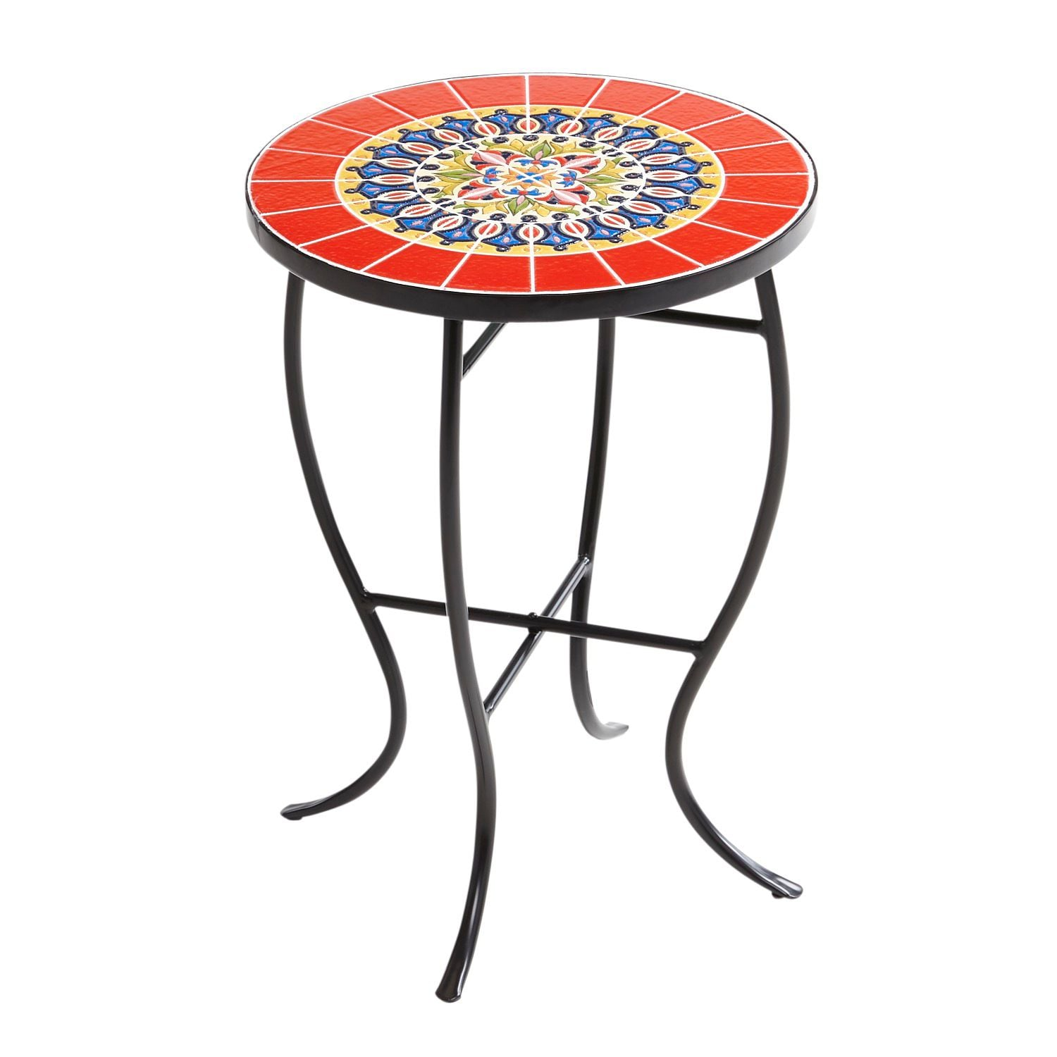 - Red Multicolor Mosaic Accent Table So Long, Snowy Days! Pier 1's
