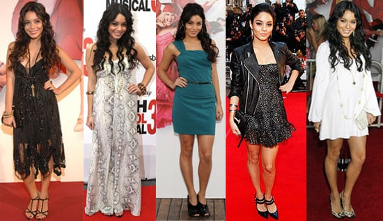 Which Vanessa Hudgens High School Musical Look Is Most Fab?