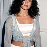 Jennifer Lopez's Natural Curls in 1996