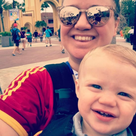 Kelly Clarkson and Her Kids at Universal Orlando April 2017