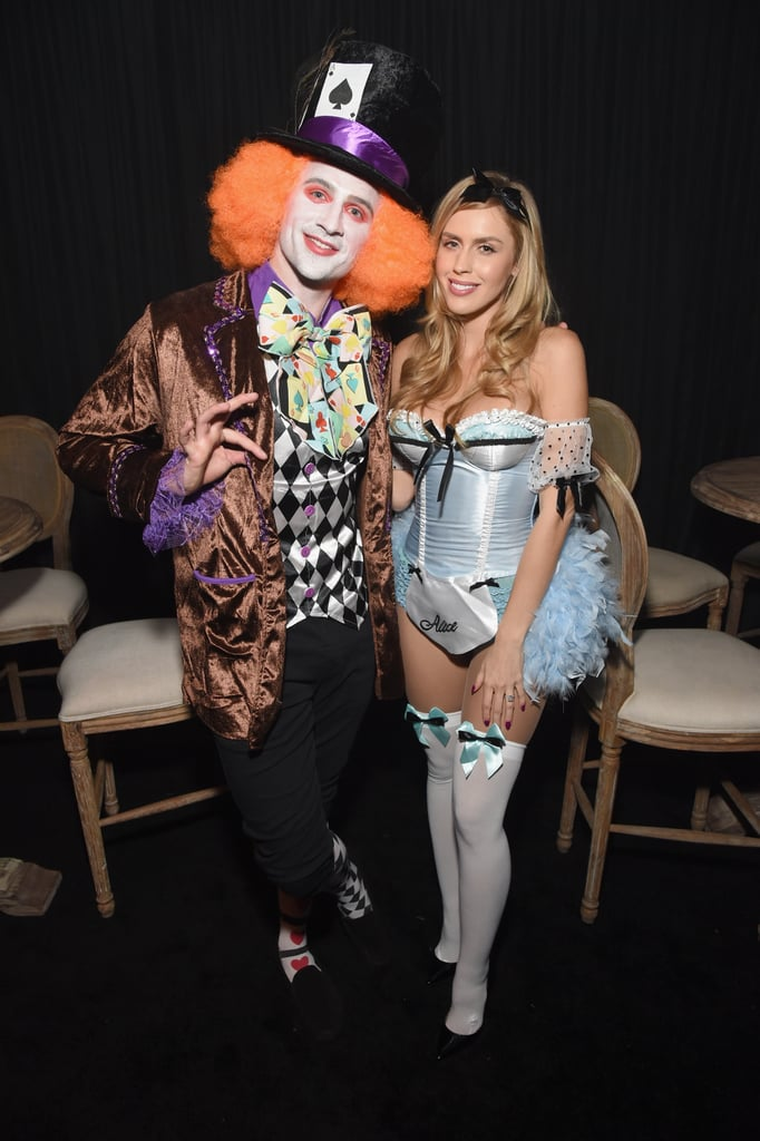 Ryan Lochte and Kayla Rae Reid as The Mad Hatter and Alice From Alice in Wonderland