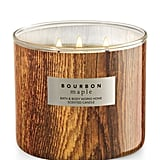 Bourbon Maple candle ($25)