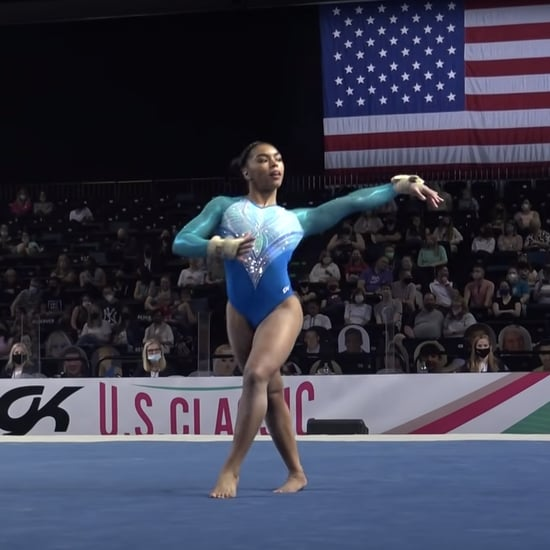 Watch eMjae Frazier's Floor Routine From the 2021 US Classic
