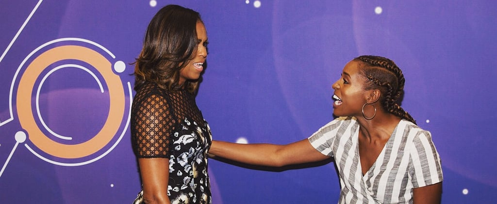 Issa Rae's Instagram Picture With Michelle Obama