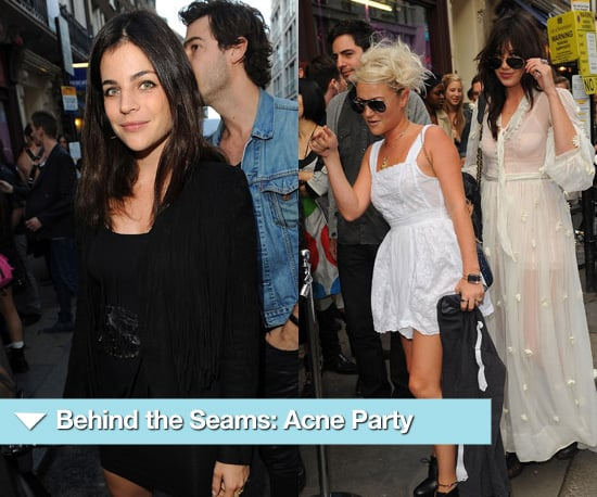 Photos of the London Acne Party Including Daisy Lowe, Jaime Winstone and Julia Restoin-Roitfeld