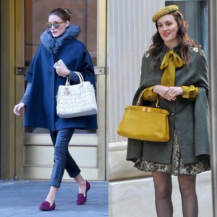 Olivia Palermo Dressing Like Blair Waldorf Popsugar Fashion