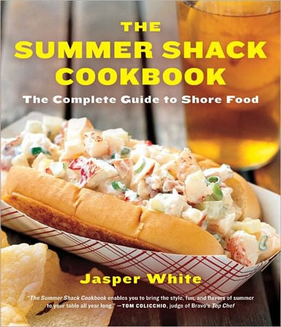 "Jasper White, Boston chef and owner of the four Summer Shack restaurants, calls the 200 easy-to-make seafood recipes in The Summer Shack Cookbook, which has finally come out in paperback, the kind of food ""you need to roll up your sleeves and get a little messy to truly appreciate and enjoy."" We're up for the challenge, Jasper. 