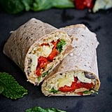 Mediterranean Vegetable Wraps With Freekeh