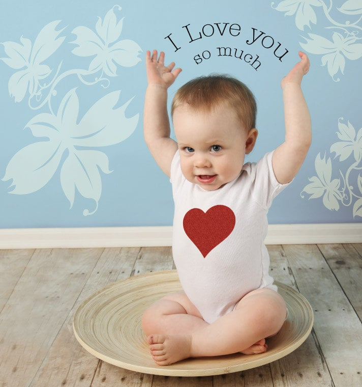 valentines day baby body suit and baby bag - Baby Valentine