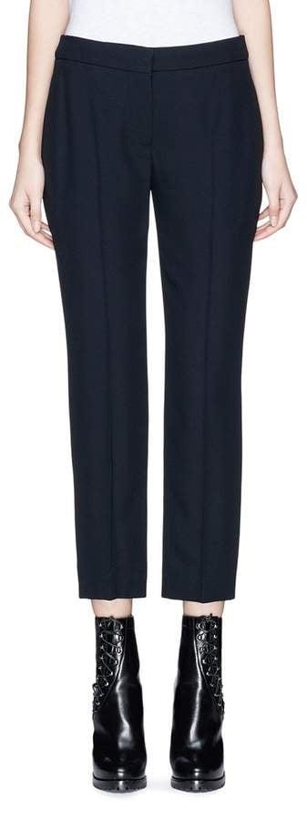 Alexander McQueen Cropped Pants