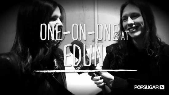 Edun Designers Ali Hewson and Sharon Wauchob Interview at New York Fashion Week Fall 2011