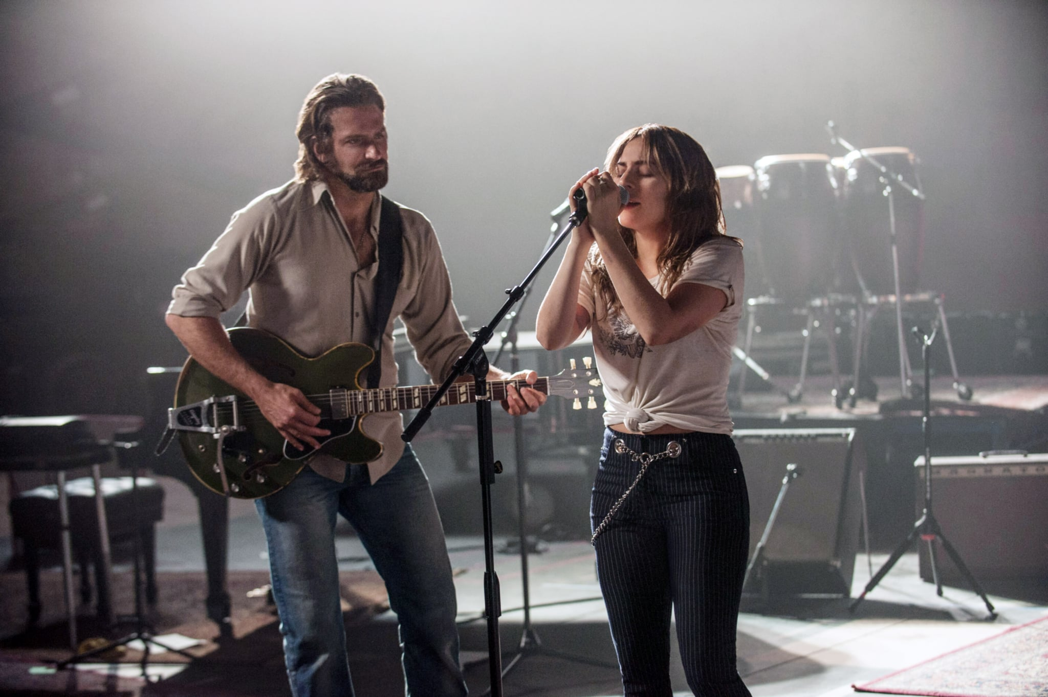Did bradley cooper really play guitar in a star is born