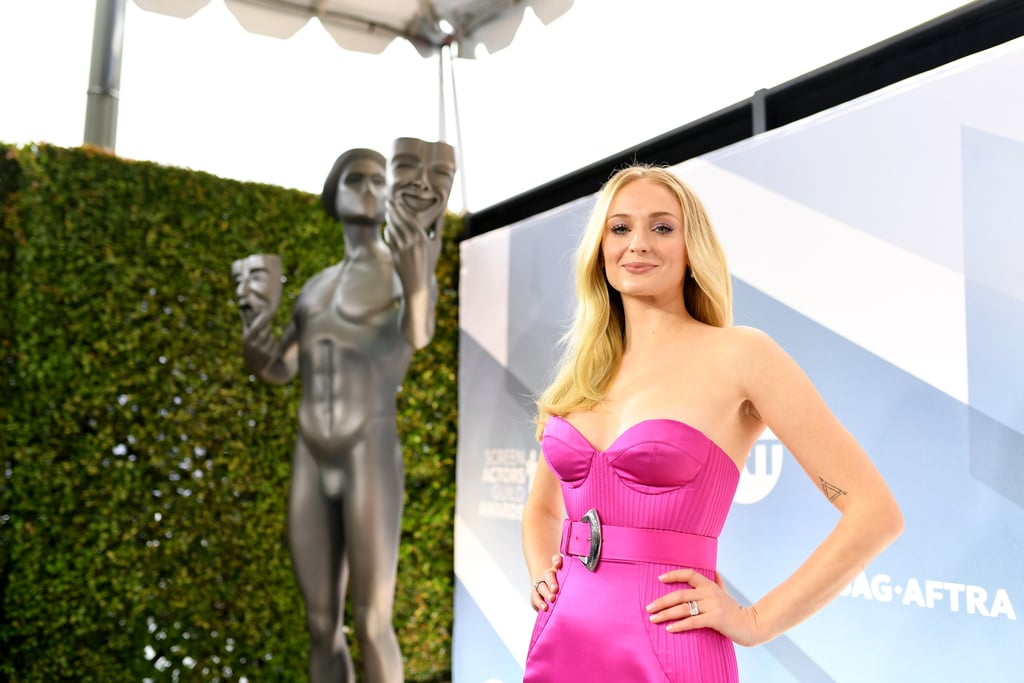 Sophie Turner at the 2020 SAG Awards