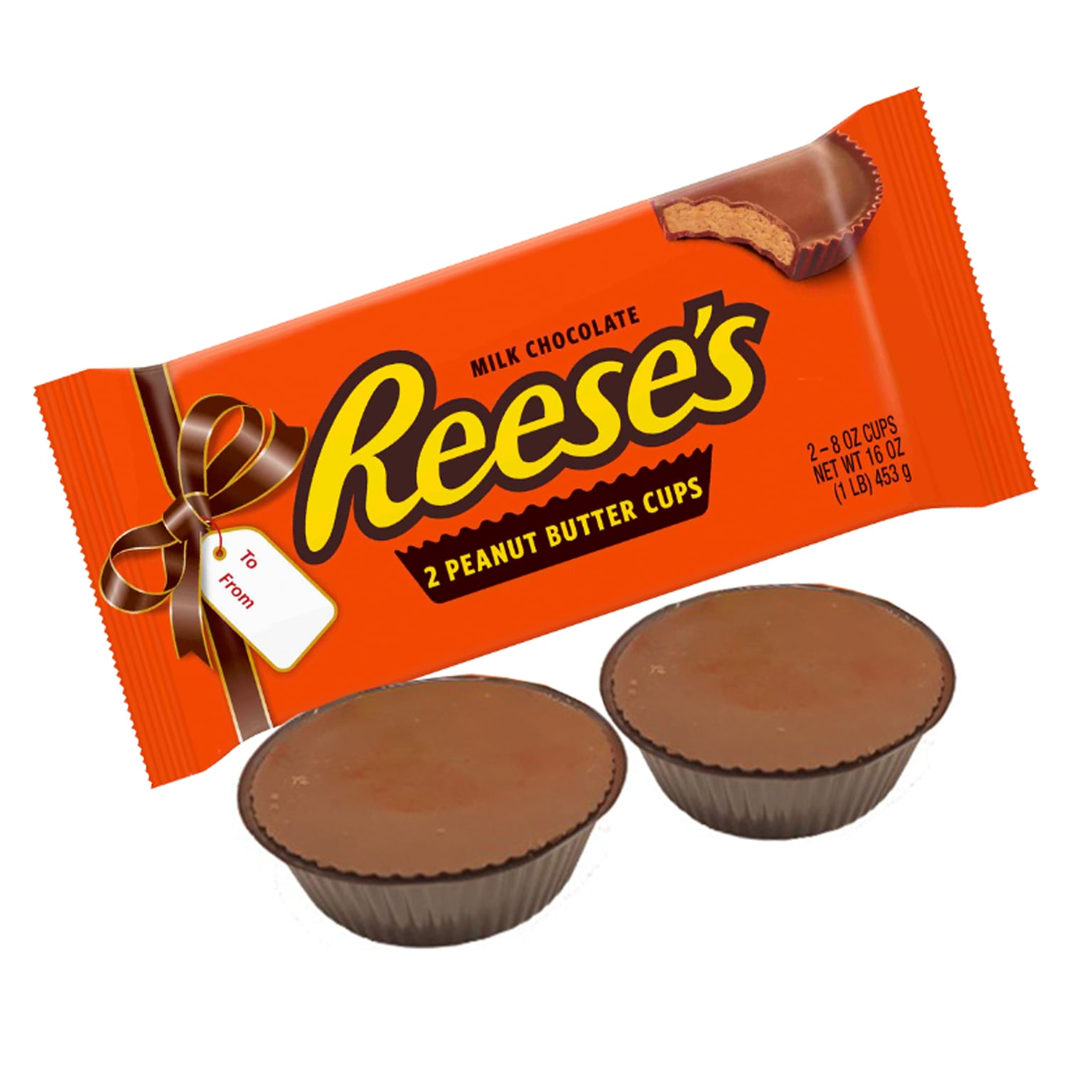 BTW, Reese's Is Selling a One-Pound Pack of Peanut Butter Cups — and They're MASSIVE
