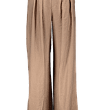EMRATA Business As Usual Wide-Leg Belted Pants ($45)