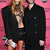 Adam Levine at the 2018 Victoria's Secret Fashion Show
