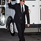Michael Kors arriving at Ralph Lauren's 50th anniversary event during NYFW