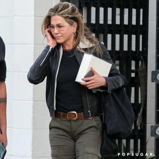 Jennifer Aniston's Brown Boots
