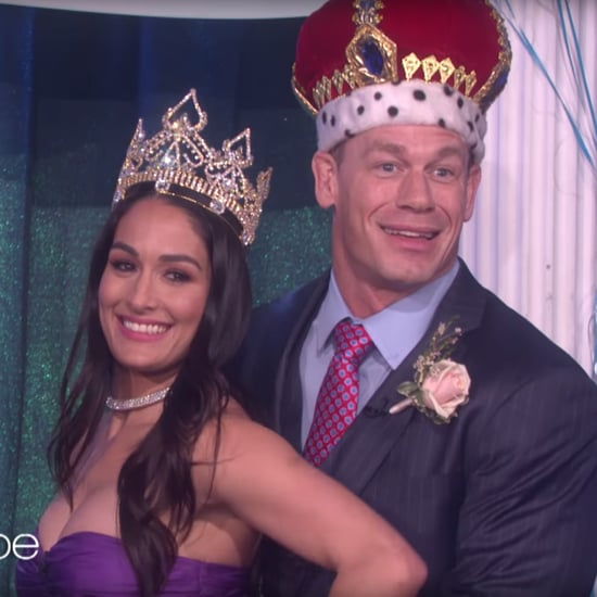 John Cena Prom With Nikki Bella on The Ellen Show
