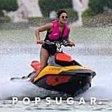 Priyanka Chopra's Black Bikini With Nick Jonas in Miami