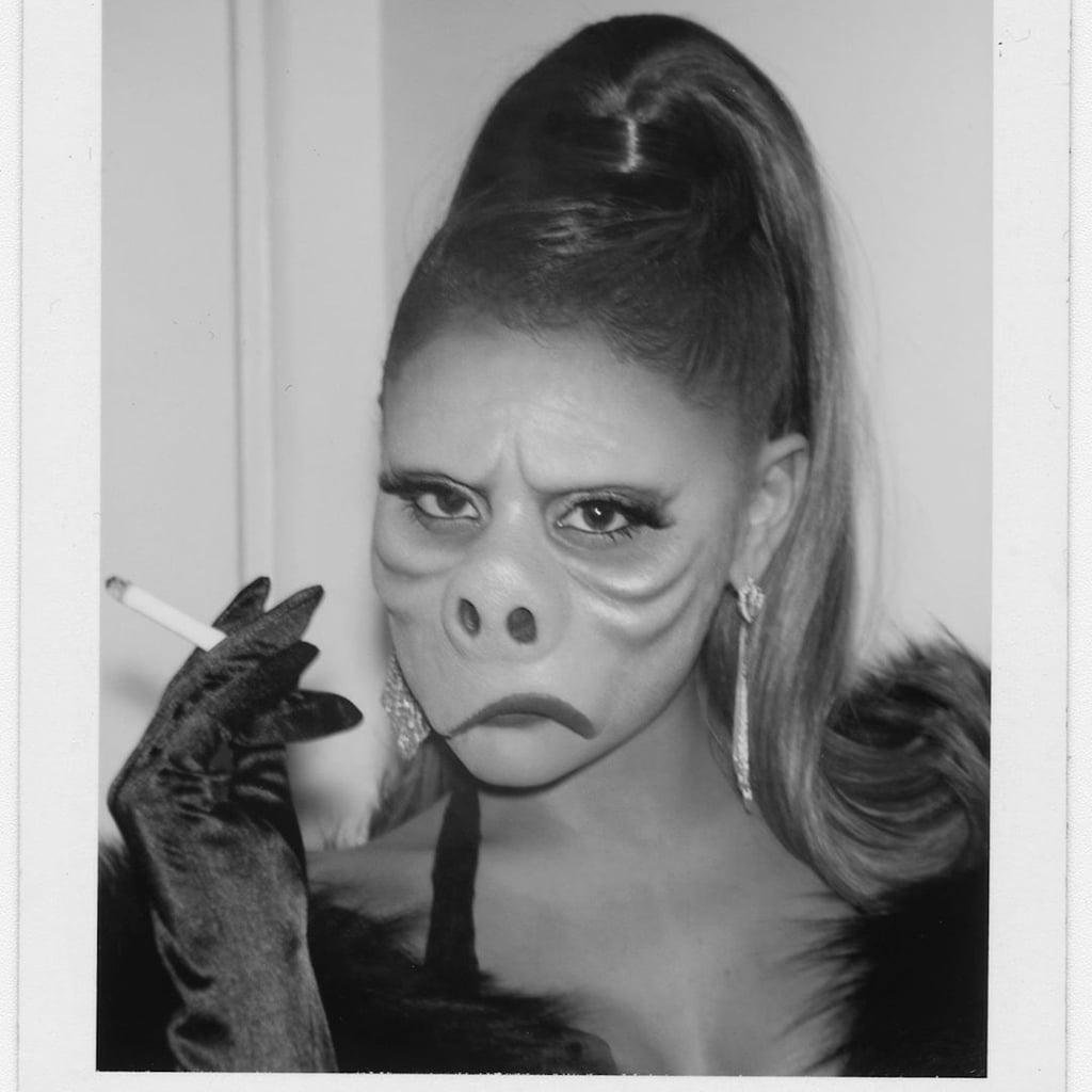Ariana Grande's Twilight Zone Halloween Makeup 2019