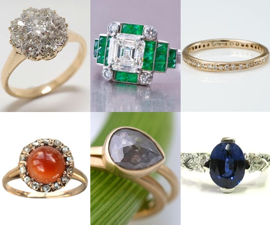Photos of 15 Ultra Special, Nontraditional Engagement Rings
