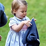 Prince George and Princess Charlotte Canada Pictures 2016