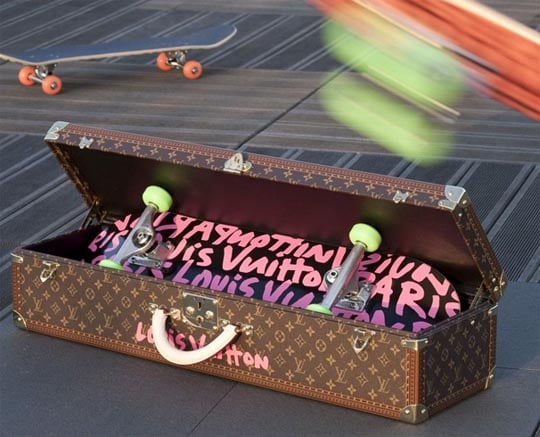 Stephen Sprouse and Louis Vuitton Skateboard