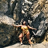See Lizzo's Beach Pictures in New Zealand