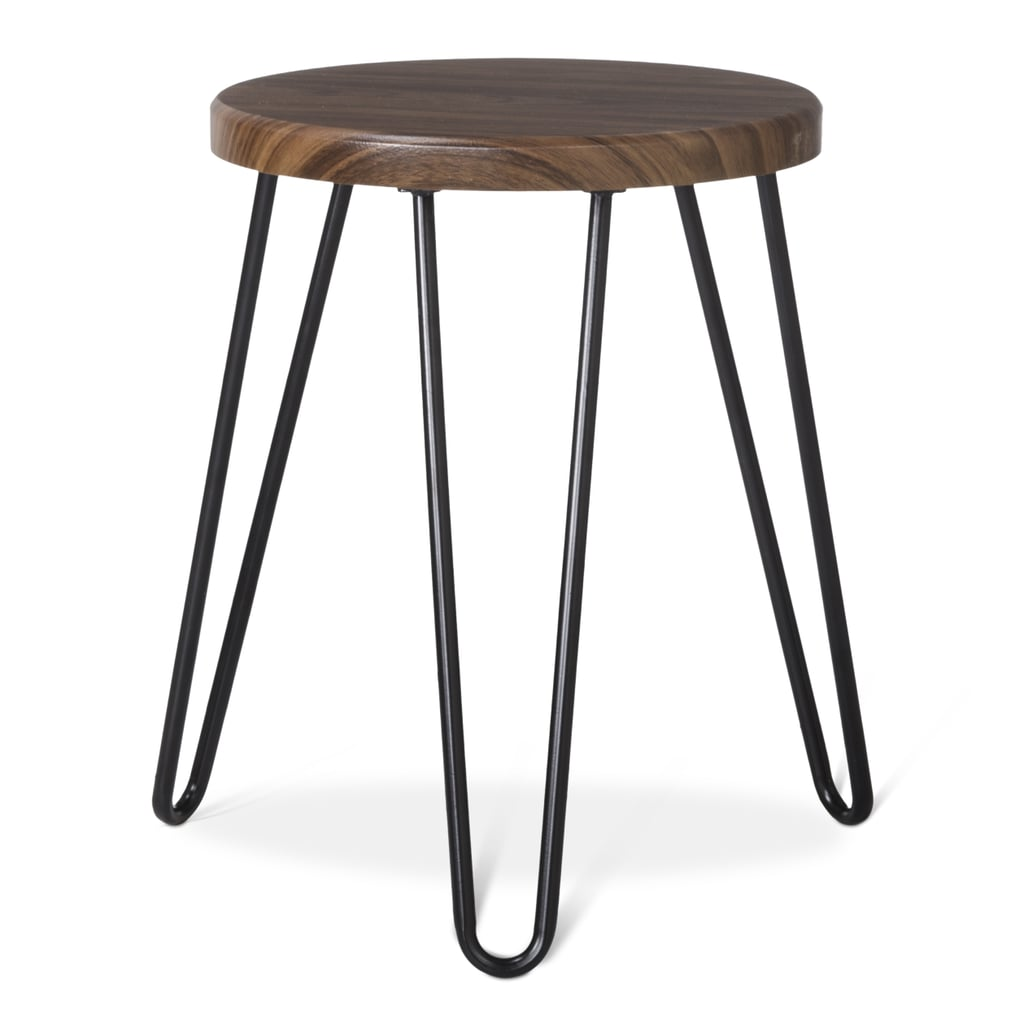A stool and side table in one