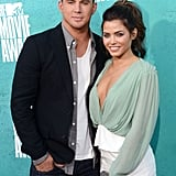 Channing Tatum and Jenna Dewan were a cute couple on the carpet.