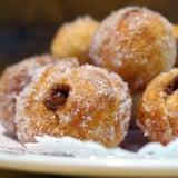 Nutella-Filled Croissant Doughnut Holes