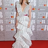 Suki Waterhouse at the 2019 Brit Awards
