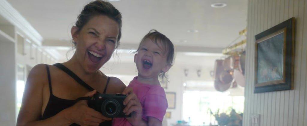 Watch Kate Hudson Teach Her Adorable Daughter to Meditate