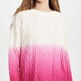 Two-Tone Dressing: 525 America Ombre Sweater
