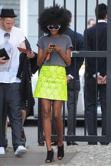 Spring 2012 Milan and Paris Fashion Week Street Style