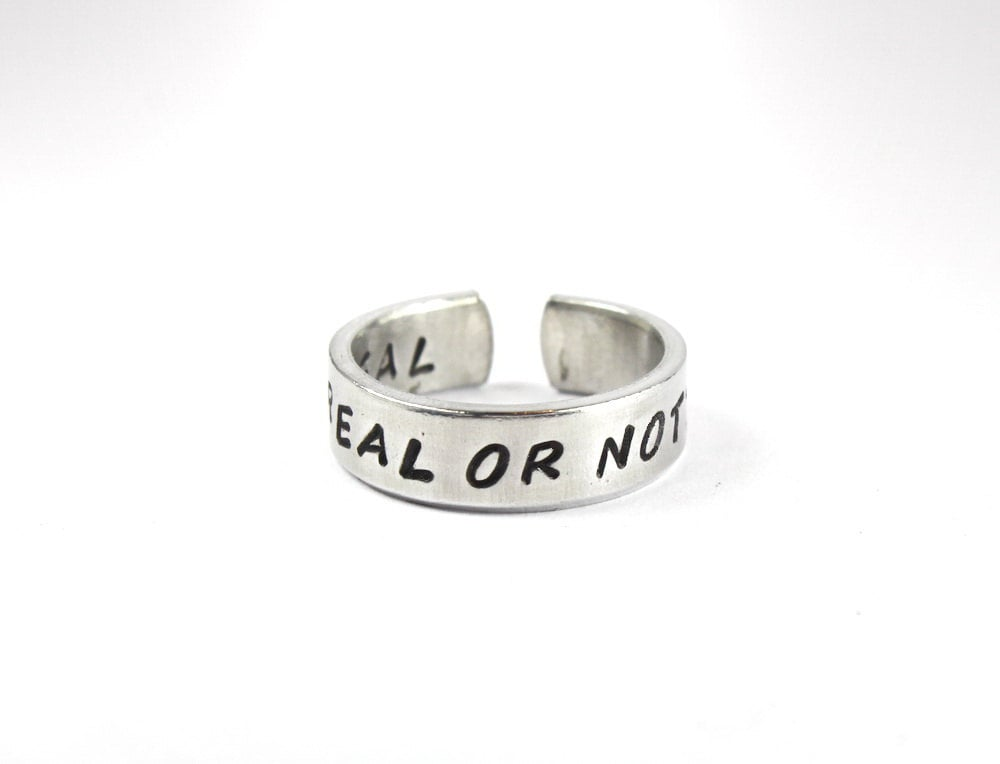 Real or Not Real Ring ($10)