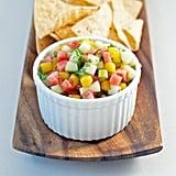 Vegetarian Appetizers: Watermelon Mango Salsa