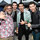 Jack Black and the Jonas Brothers at the Teen Choice Awards 2019