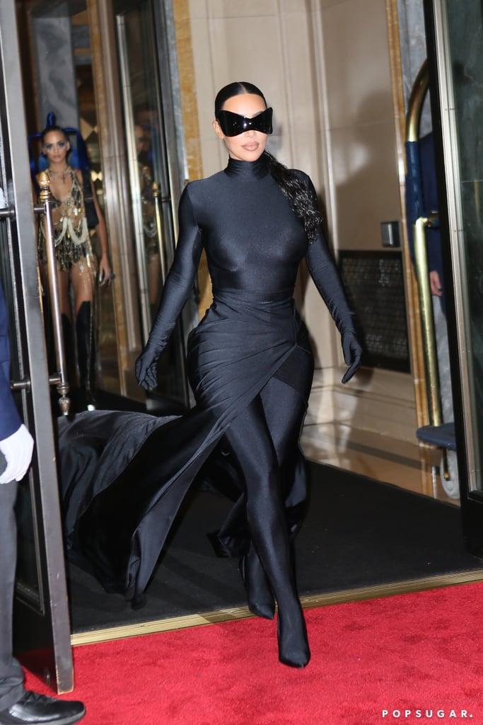 Kim Kardashian at the 2021 Met Gala After Party