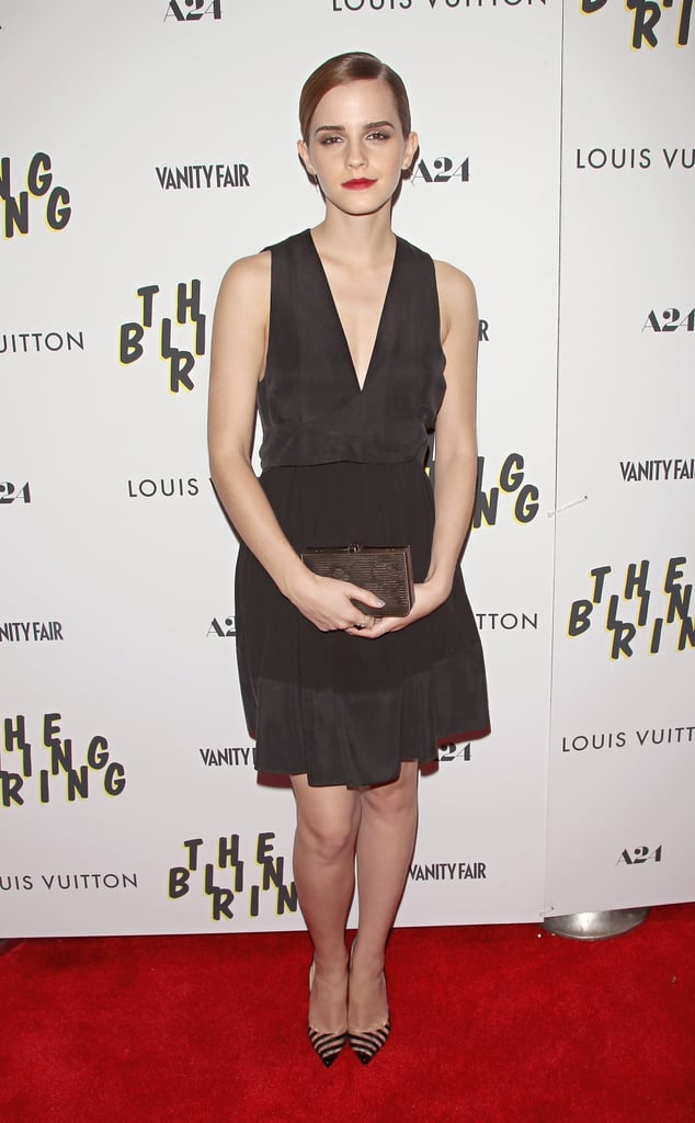 Emma Watson Brings The Bling Ring to the Big Apple