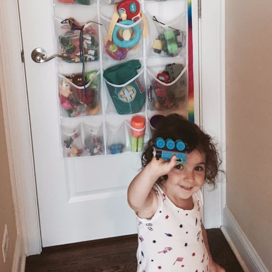 Using Hanging Shoe Organiser For Kids' Toys