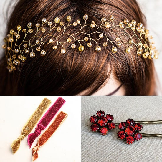 Christmas Hair Accessories on Etsy