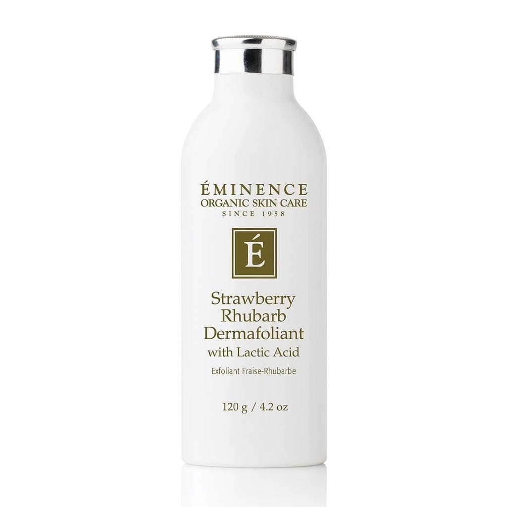 Eminence Strawberry Rhubarb Dermafoliant Review