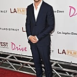 Ryan Gosling Looks Dapper at His Drive Premiere With Leading Lady Christina Hendricks