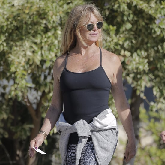 Goldie Hawn Walking in LA Pictures October 2016