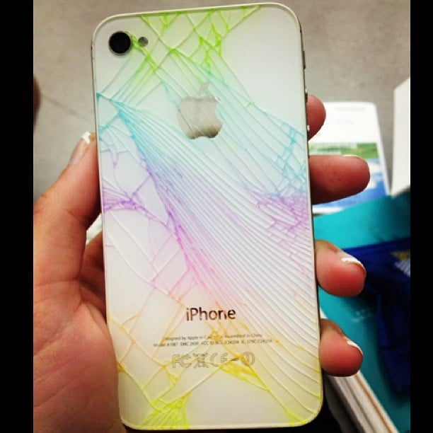 Colors! Colors! Colors! On Instagram user emily_witt13's phone.